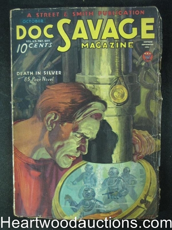 Doc Savage Oct 1934  Death in Silver