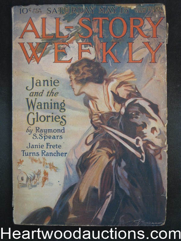 All Story Weekly May 15, 1920 - Hulbert Footner, Max Brand