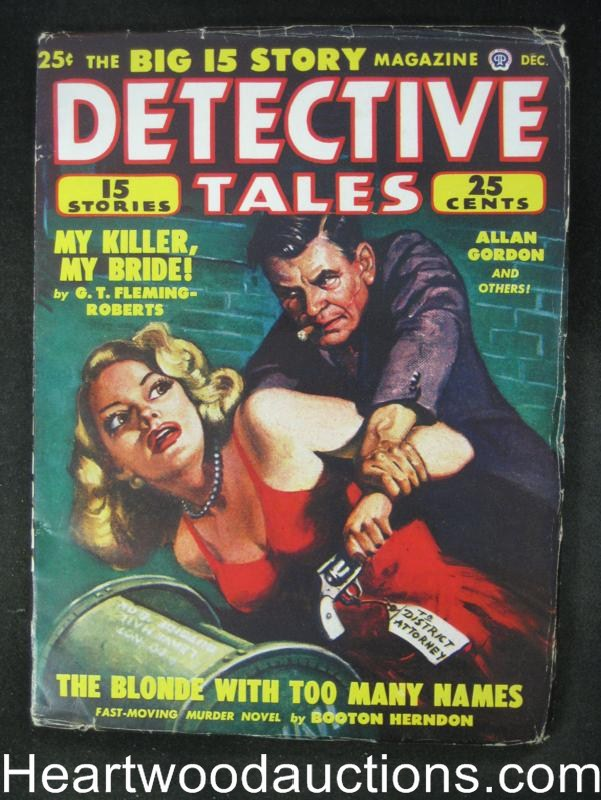 Detective Tales- Dec 1948- GGA Assault Cvr - High Grade
