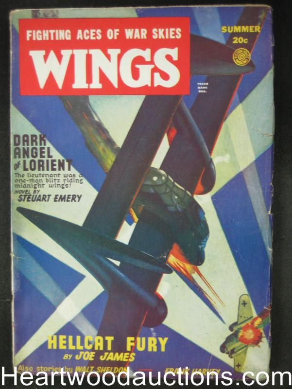 Wings- Summer 1947-  Load Your Guns Dig Your Graves!