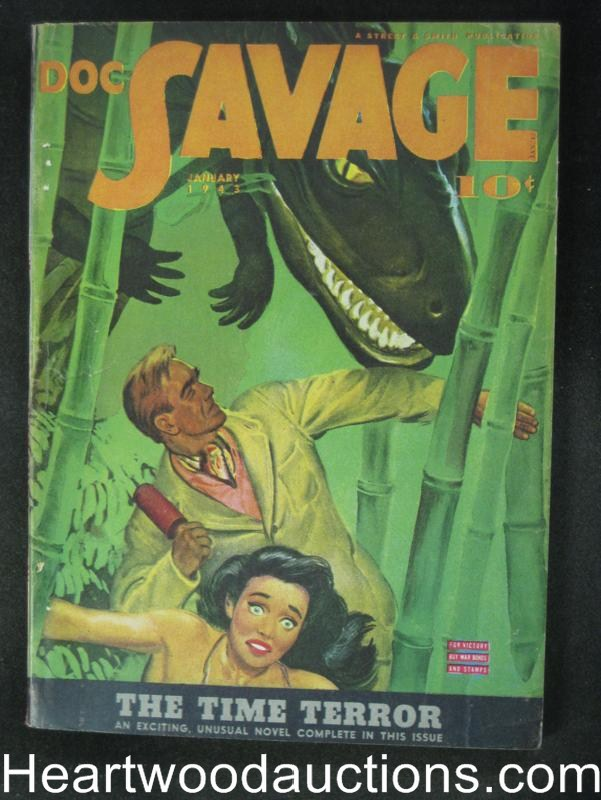 Doc Savage- Jan 1943- The Time Terror