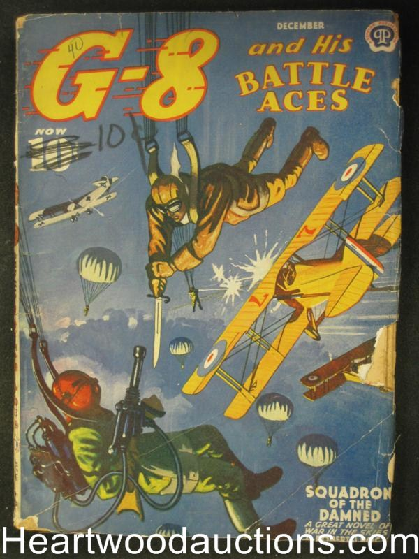 G-8 Battle Aces Dec 1940 Sqaudron of the Damned