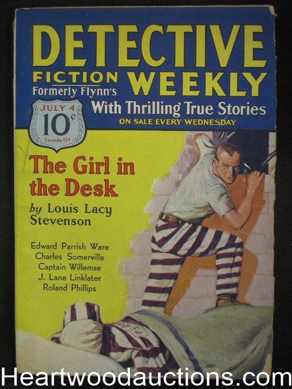 Detective Fiction Weekly Jul 4, 1931 The Girl in the Desk