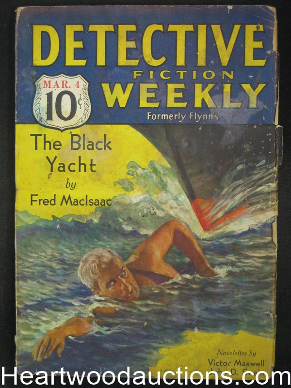 Detective Fiction Weekly Mar 4, 1933 Wild Cvr