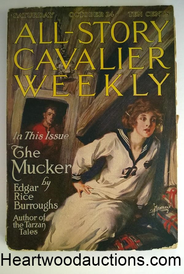All Story Oct 24, 1914 Edgar Rice Burroughs- The Mucker Cover story