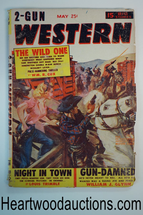 2 Gun Western May 1954 GGA Cvr, William R. Cox