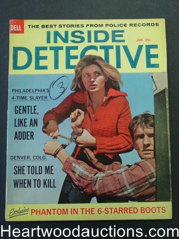 Inside Detective Jan 1964 Escaped Convict