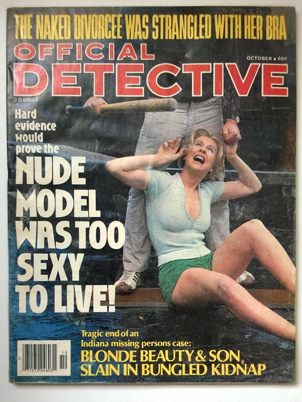 Official Detective Oct 1977 Assault CVR
