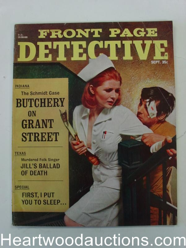 Front Page Detective Sep 1966 Assault CVR