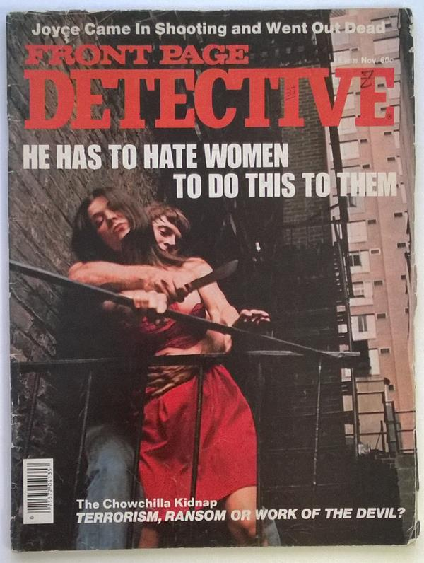 Front Page Detective Nov 1976 Chowchilla Kidnapping
