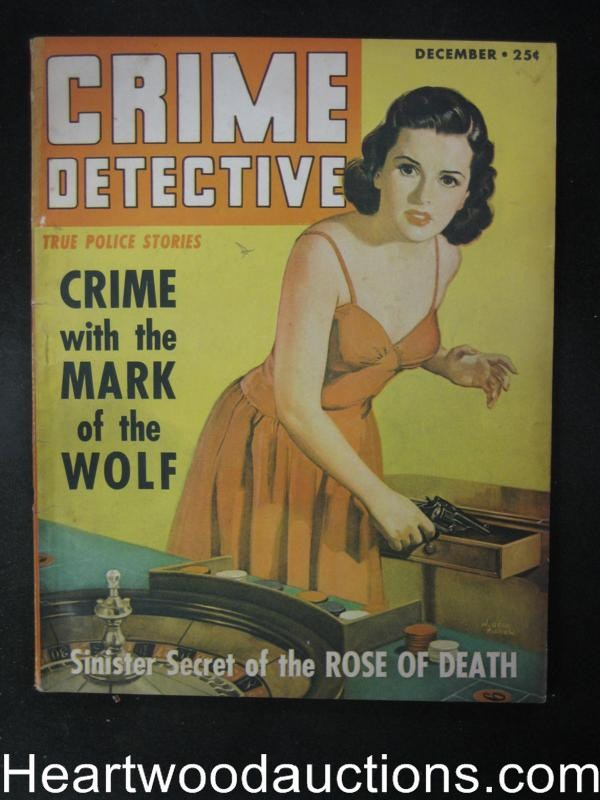 Crime Detective Dec 1943  GGA Cover