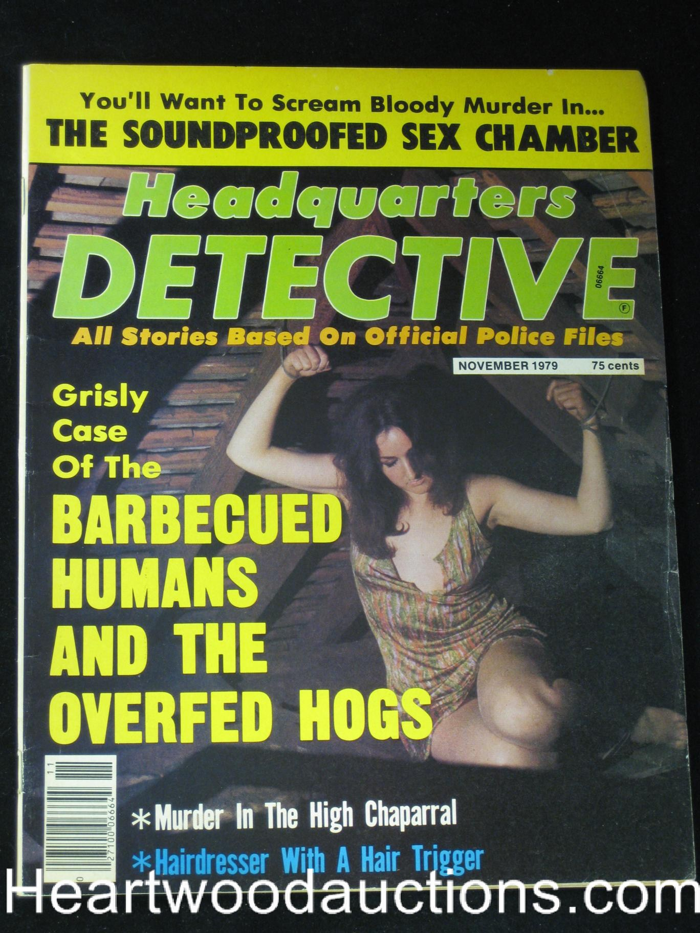 Headquarters Detective Nov 1979 Damsel in Distress