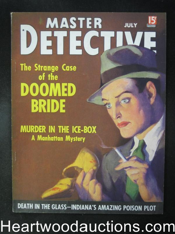 Master Detective July 1936  Why Not Be Fair About Paroles?- High Grade
