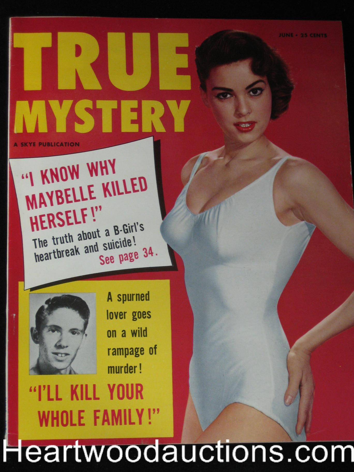 True Mystery June 1956 Sleaze