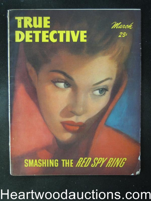 True Detective March 1947  Cardiff Cvr, Yelow Kid Weil