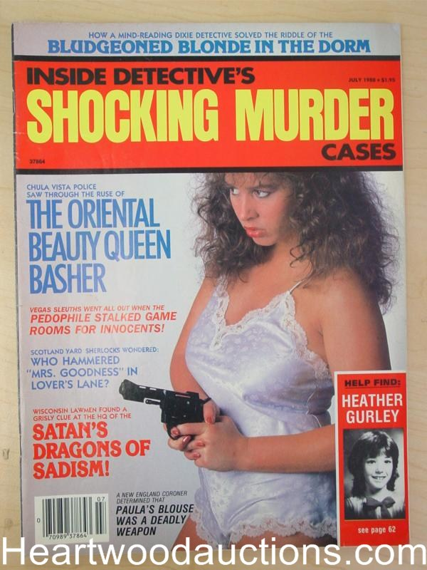 Inside Detective Shocking Murder Cases July 1988 Bad Girl CVR