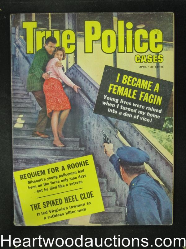 True Police Apr 1961 Hostage cover