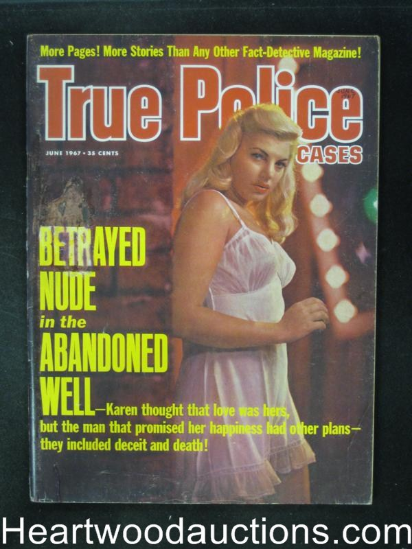 True Police Jun 1967 ?Strangled Before the Fire Started?