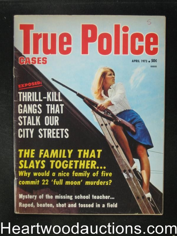True Police Apr 1973 Hell?s Angel Expose