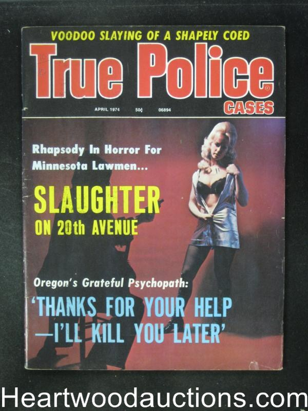 True Police Apr 1974 The Strangling of a Sun-Bathing Blonde