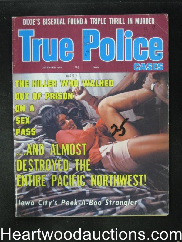True Police Dec 1974 Assault Cover