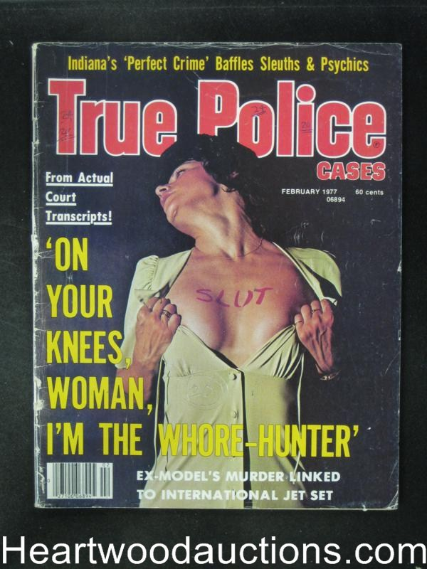True Police Feb 1977 Wild Cover