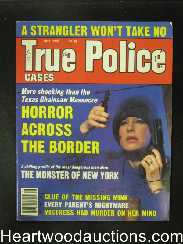 True Police Oct 1989 Bad Girl Cover- High Grade