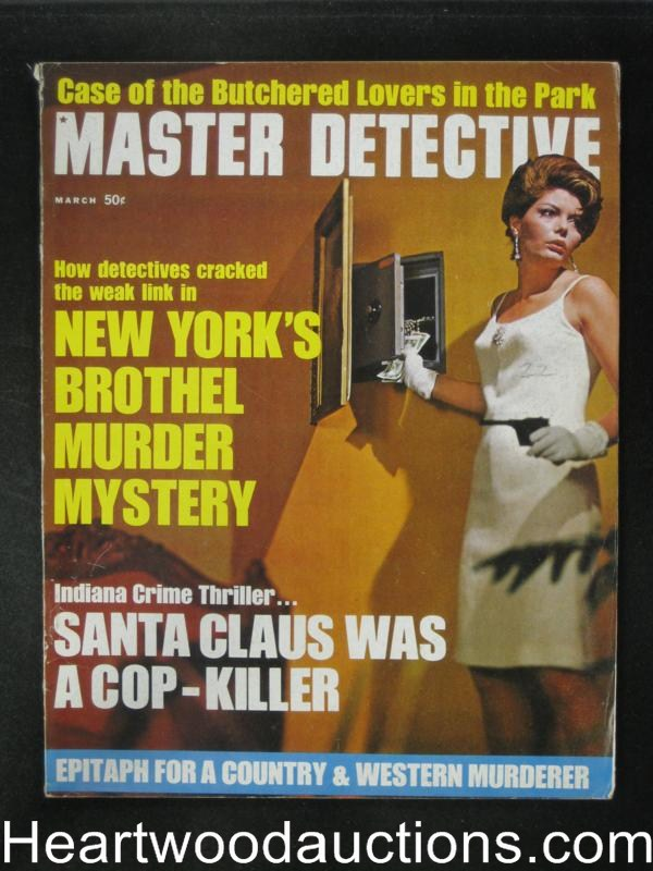 Master Detective Mar 1970 Bad Girl Cover