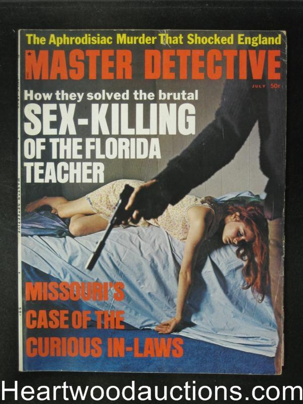 Master Detective Jul 1970 Assault Cover