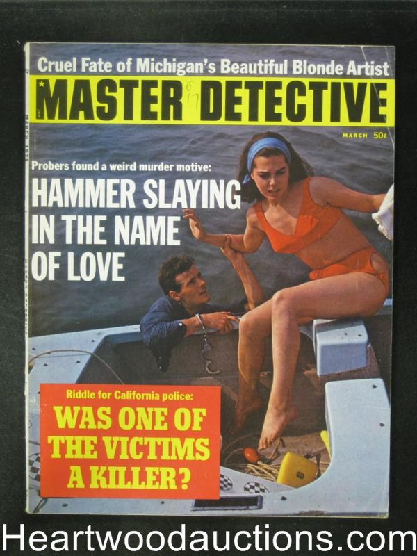 Master Detective Mar 1971 The Man Who Sold a Giant