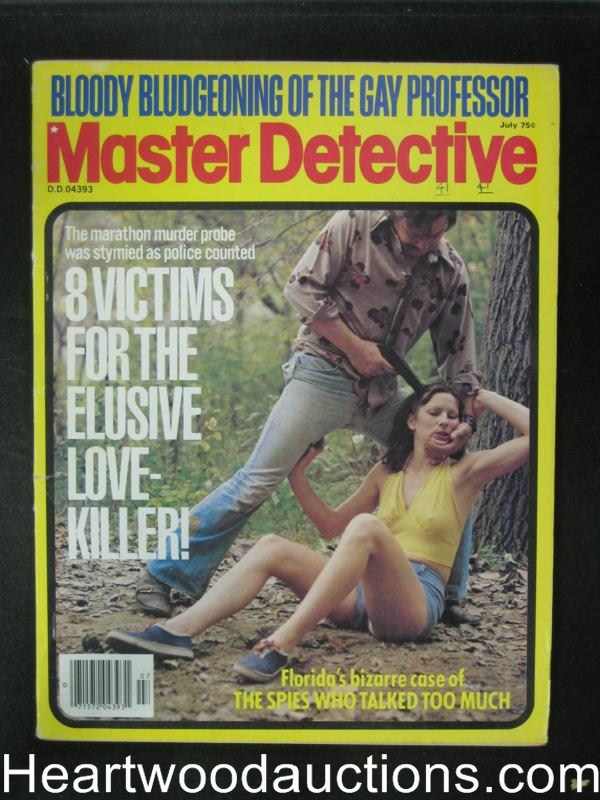 Master Detective Jul 1978 Assault Cover
