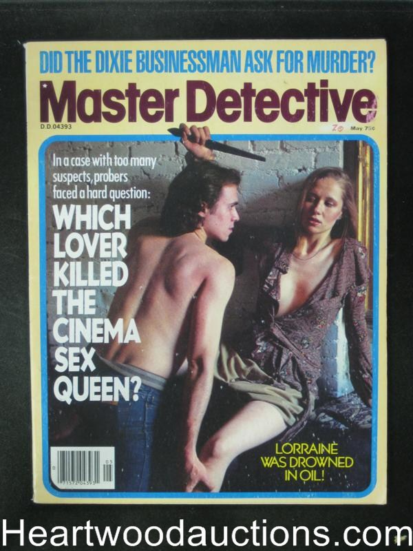Master Detective May 1978 Assault Cover