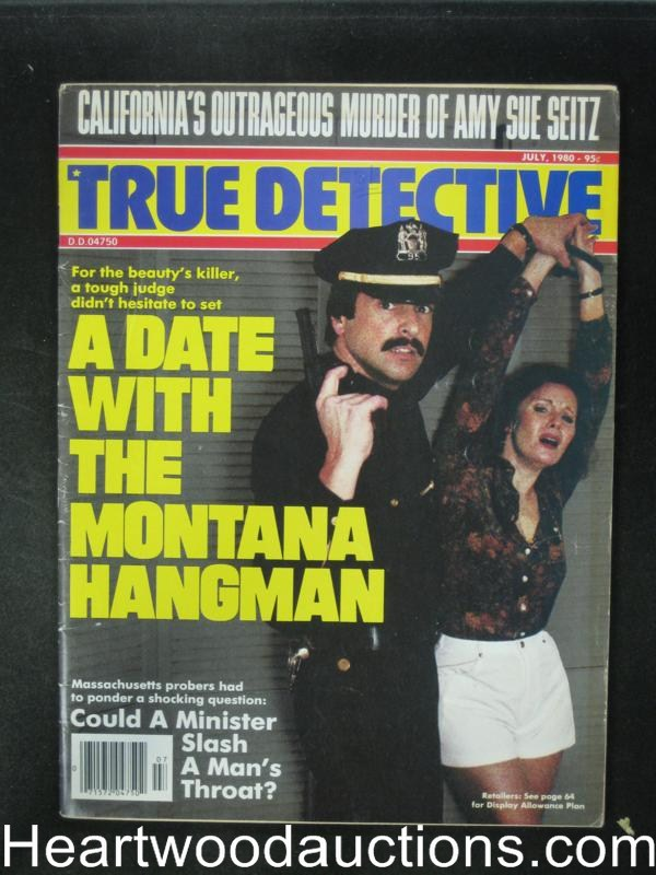 True Detective Jul 1980 Bondage Cover
