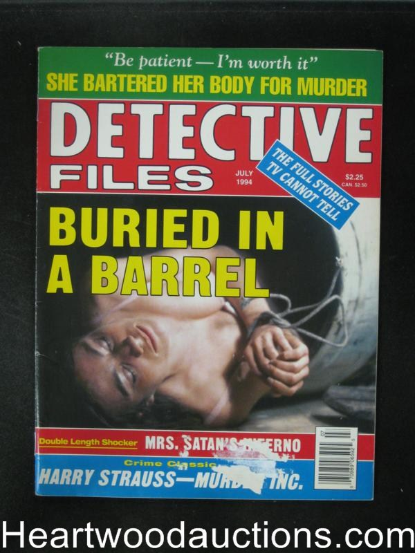 Detective Files Jul 1994 Bondage Cover