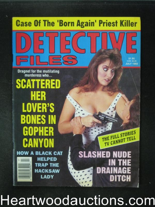 Detective Files Jul 1993 Bad Girl Cover