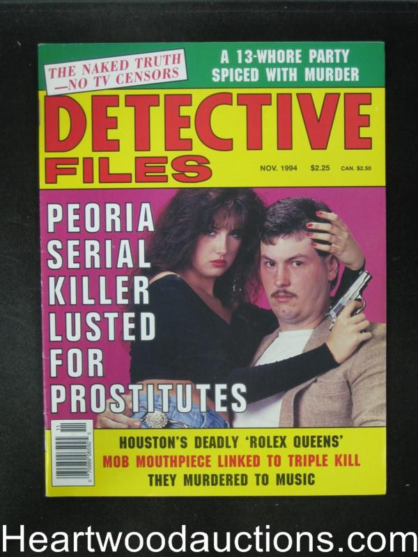 Detective Files Nov 1994 Bad Girl Cover- High Grade