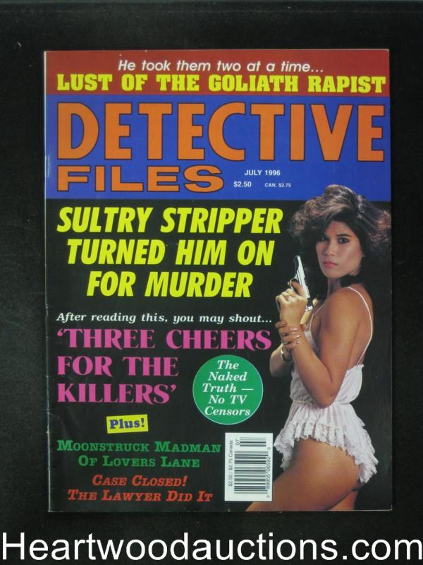 Detective Files Jul 1996 Bad Girl Cover- High Grade