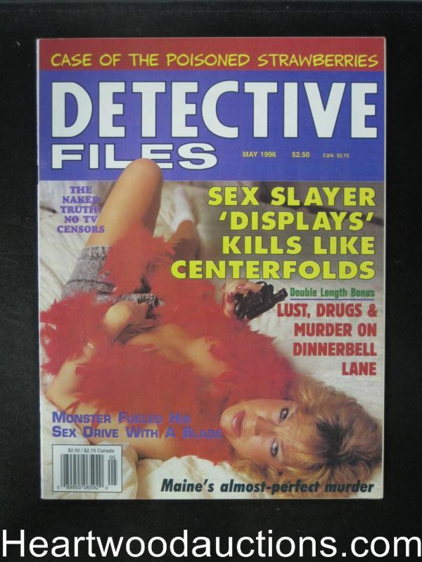 Detective Files May 1996 Bad Girl Cover- High Grade
