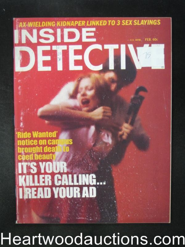 Inside Detective Feb 1975 Assault Cover