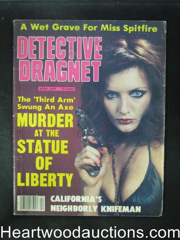 Detective Dragnet Apr 1979 Bad Girl Cover