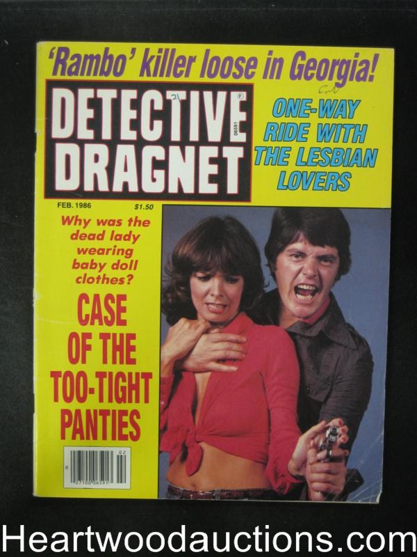 Detective Dragnet Feb 1986 Hostage Cover