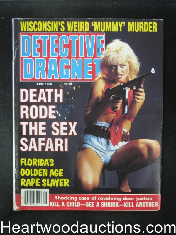 Detective Dragnet Jun 1986 Bad Girl Cover