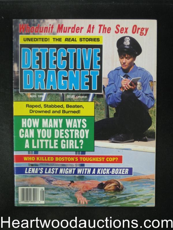 Detective Dragnet Aug 1994- High Grade