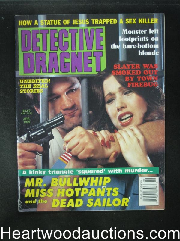 Detective Dragnet Apr 1996 Hostage Cover