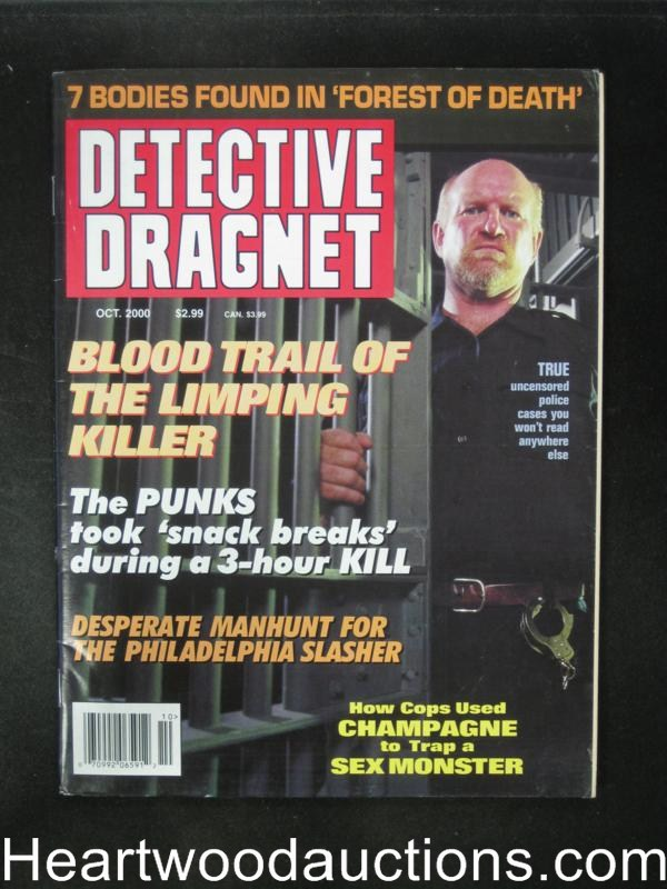 Detective Dragnet Oct 2000- High Grade