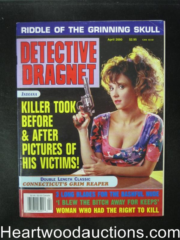 Detective Dragnet Apr 2000 Bad Girl Cover- Ultra High Grade