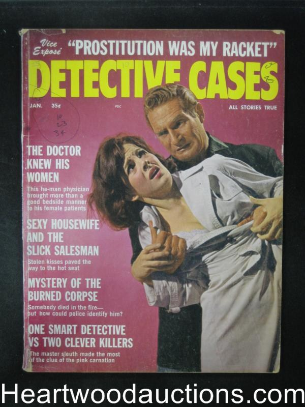 Detective Cases Jan 1964 Assault Cover