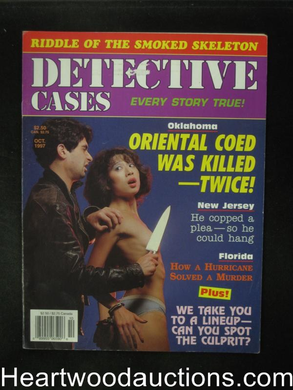 Detective Cases Oct 1998 Bondage Cover