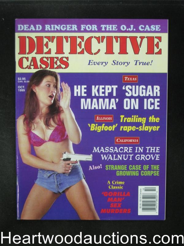 Detective Cases Oct 1999 Bad Girl Cover- High Grade