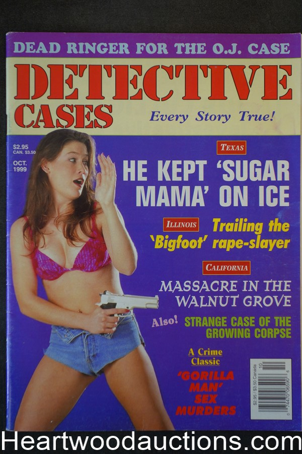 Detective Cases Oct 1999 Bad Girl Cover - High Grade